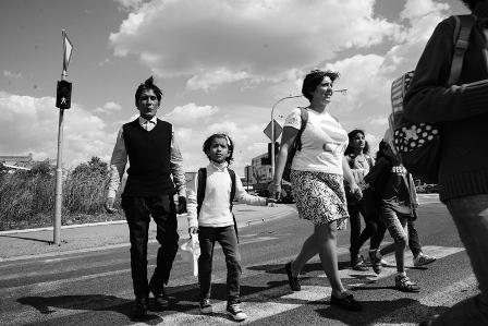 KRNJACA refugee camp School Day