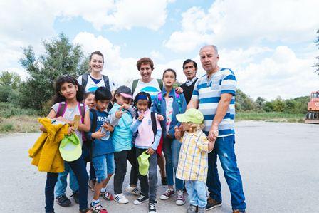 Slika Krnjaca sajt 01|KRNJACA refugee camp School Day